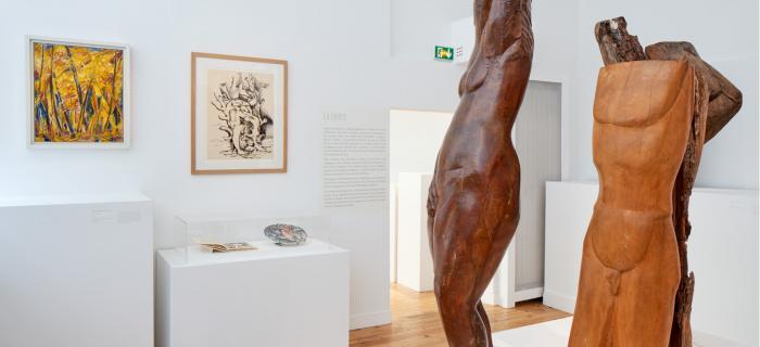 """""""Le Rêveur de la forêt"""", sept 19 - fév 20, musée Zadkine, Paris, photo R. Chipault"""