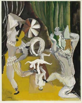 Ossip Zadkine, Au cirque - © Musée Zadkine / Roger-Viollet