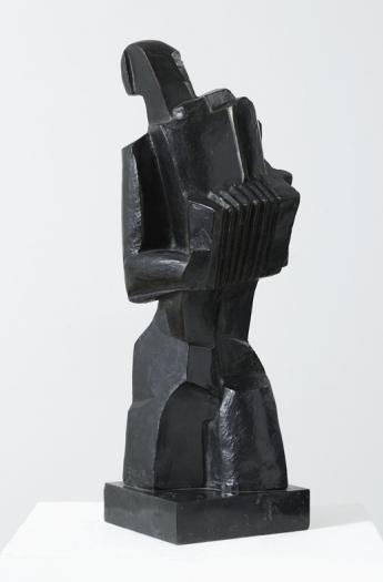 Ossip Zadkine, Accordéoniste - © Fr. Cochennec et E. Emo / Musée Zadkine / Roger-Viollet