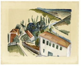 Ossip Zadkine, Village - © Musée Zadkine / Roger-Viollet