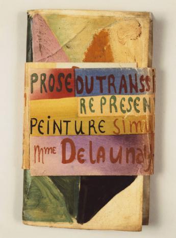 Blaise Cendrars et Sonia Delaunay, La Prose du Transsibérien - © Musée Zadkine